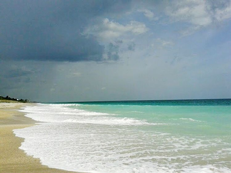 Sea Beach Surf Wave Sand Horizon Over Water Water's Edge Sky Travel Destinations Cloud - Sky Water Outdoors Day Storm No People Tide Nature Beauty In Nature Storm Cloud Scenics Amateurphotographer