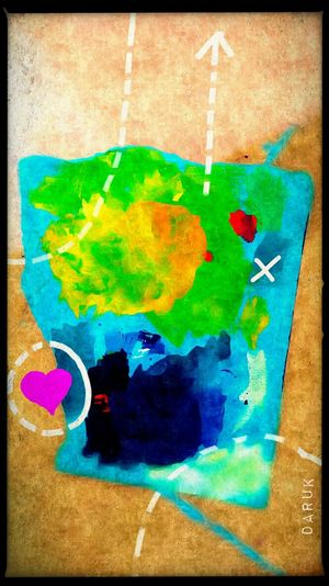 Treasure Map My Art, My Soul... My Artwork Join Me On This Trip