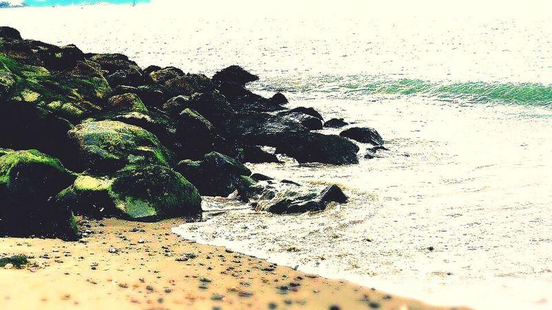 Beach Sand Sea Shore Horizon Over Water Beauty In Nature