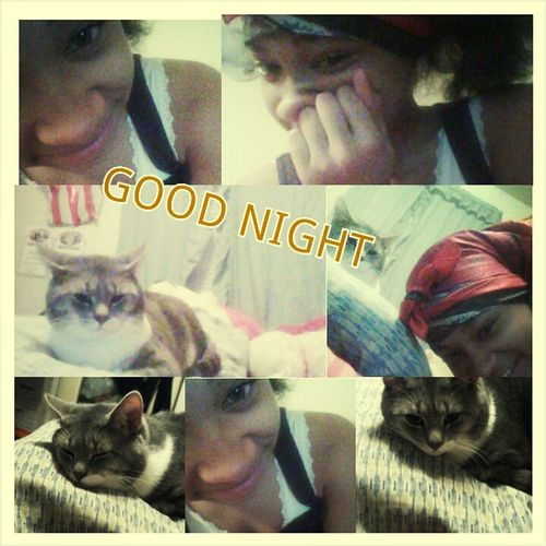Me&&Monday Say Good Night !!