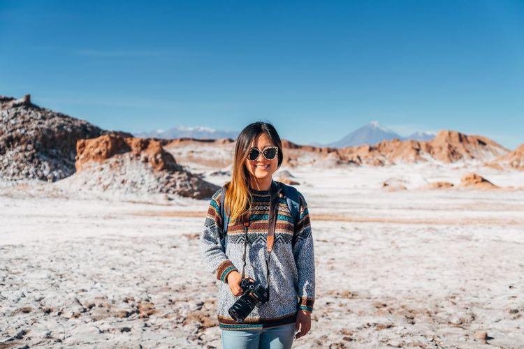 City Desert Atacama Close-up Female Landscape One Person Single Word Smile South America