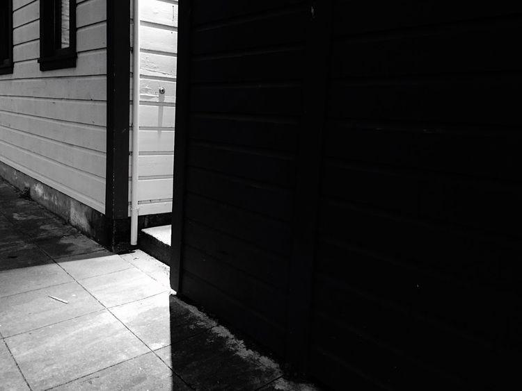 Blackandwhite Porch Light Night Shots