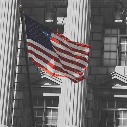 City_explore Flag USA America Architecture Film WashingtonDC Washington DC