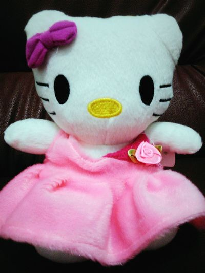 Special gift from my fav person ? Dolls Hello Kitty Special Gift Love