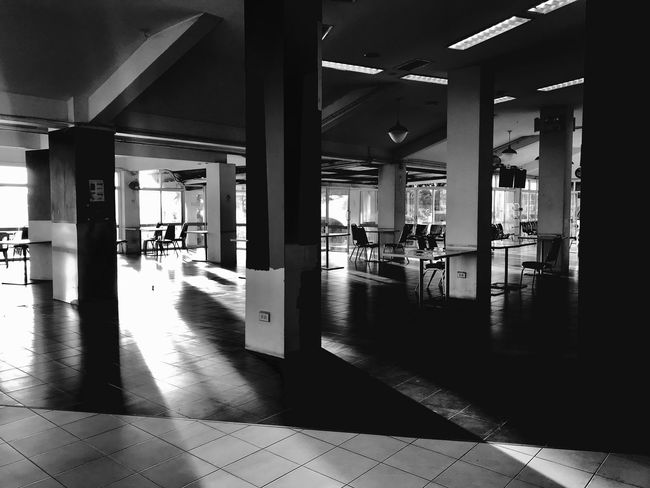 Architecture Architectural Column Built Structure Building No People Day Indoors  Empty Shadow Sunlight Transportation The Way Forward