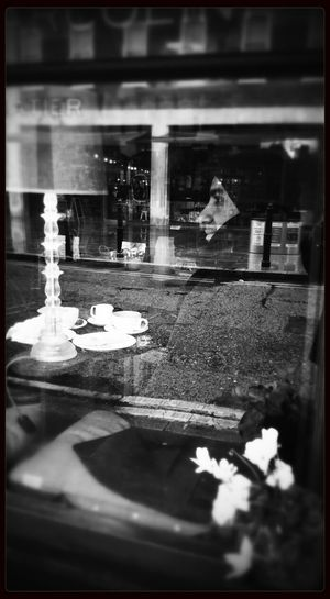 That's Me Coffee Time Blackandwhite Monochrome