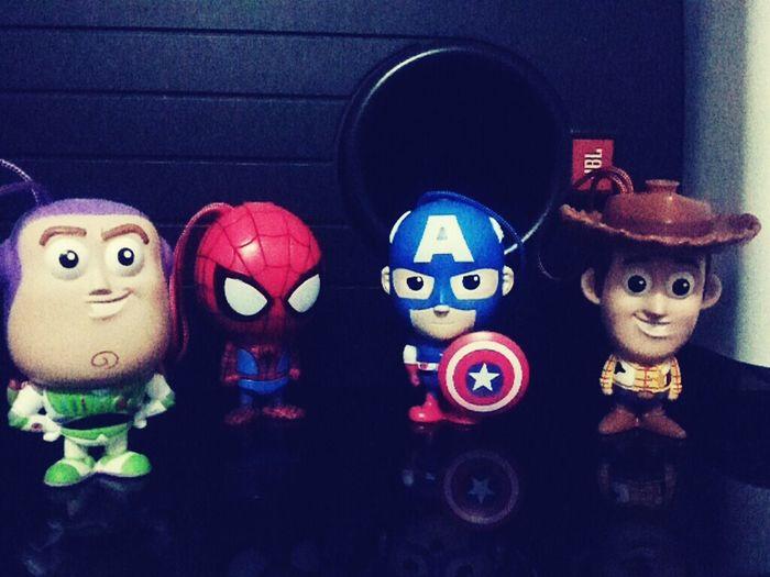 Tescomalaysia Taking Photos Superheroes Mattel Disney. I already done collect this superheroes
