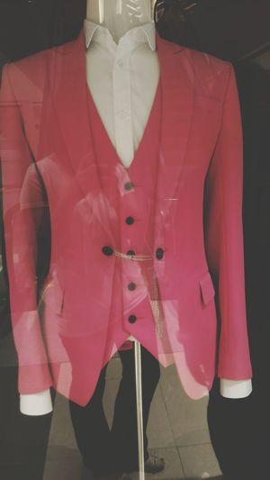 Boyfie Pink Hello World Suit Tucks Love Man Fashion Fashion&love&beauty Fashion Photography