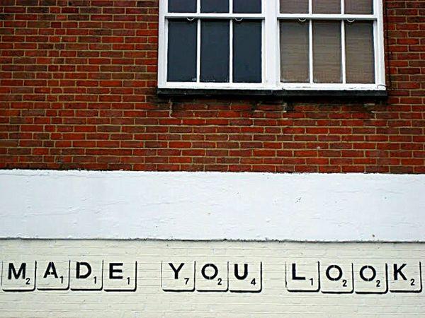 Madeyoulook Scrabble Scrabble Tiles Brickwall