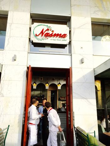 Nasma restaurant The Place I'm Now Yummy Delicious Lunch Lovely Day Enjoying Life With Friends Having A Good Time Hello World Eat Eat And Eat Relaxing Check It Out