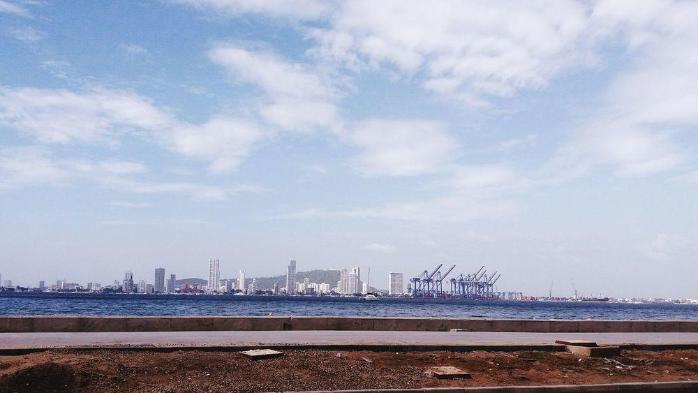 Bahia de cartagena Bay View Water Cartagena Passing By