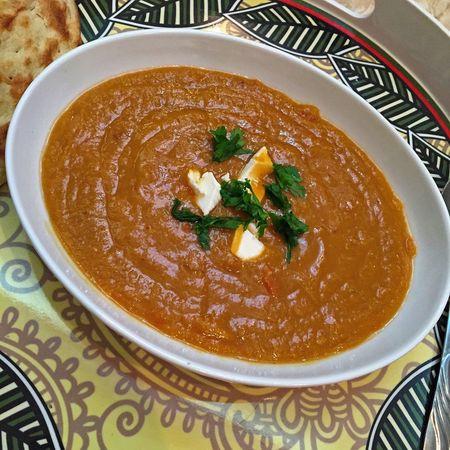 👌🏻فول مع قبنه Photo Yummy Breakfast Beans تصويري  لقطه صوره فول يمي فطور Food And Drink Soup Serving Size Healthy Eating Bowl