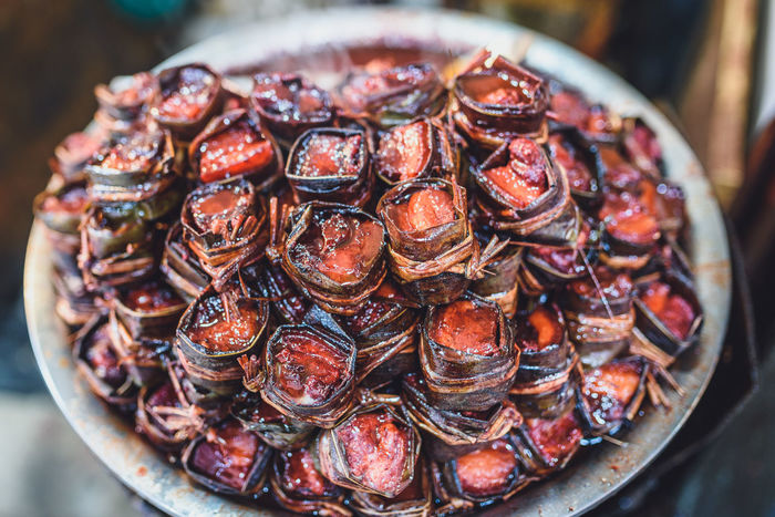 Street food in Zhujiajiao Ancient Town ASIA Cusine Close-up Day Focus On Foreground Food Food And Drink Freshness Healthy Eating Large Group Of Objects No People Plate Ready-to-eat Still Life Street Food