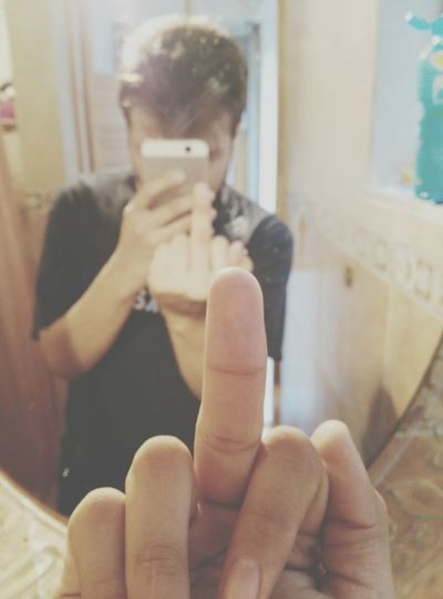 Me Night Middle Finger