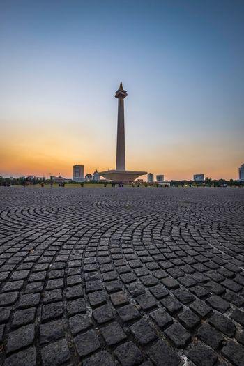 Tourism Sunset